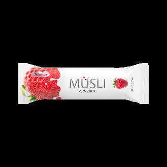 Musli Bar me dredhëz dhe jogurt