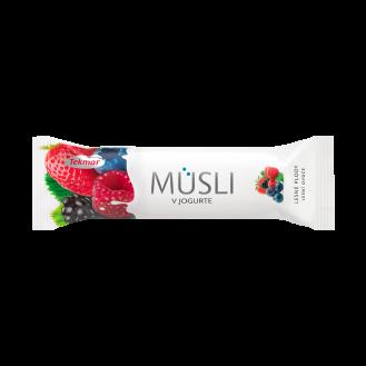 Musli Bar me fruta pylli & jogurt