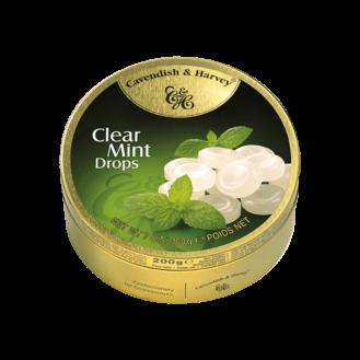 Clear Mint Drops - C&H