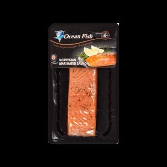Salmon i marinuar