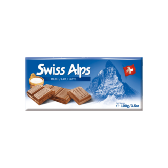 Swiss Alps Çoko. Qumësht