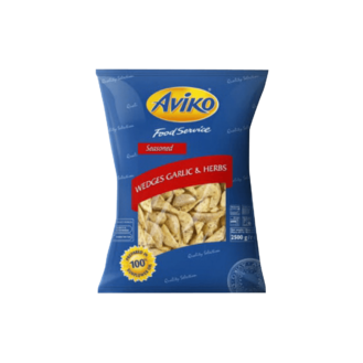 Aviko Wedges Garlic & Herbs