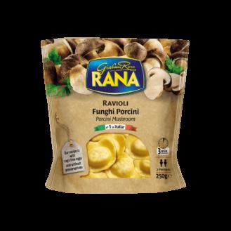 Rana Ravioli me këpurdha funghi
