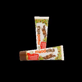 Miodelka krem çoko/lajthi/majltë