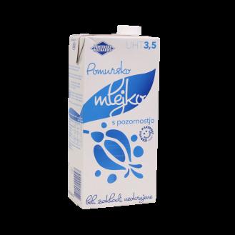 Pomurske Mlekarne Qumësht 3,5%, 12/1L.