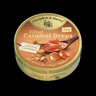 Caramel Drops filled Caramel-C&H 11/130g