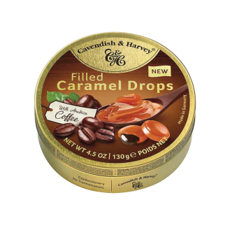 Caramel Drops filled Coffe - C&H 11/130g