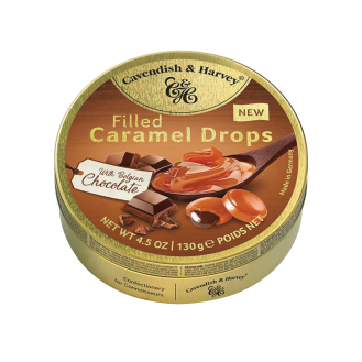 Caramel Drops filled Choco - C&H 11/130g