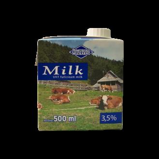 Pomurske Mlekarne Qumësht 3,5%, 12/0.5L.