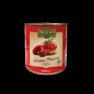 Novi Domate  të qëruara  6/2500g.