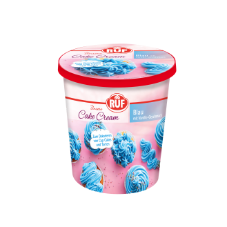 Cake cream Blau