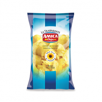 Potato chips salted 190gr