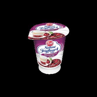 Sahne Joghurt Qershi