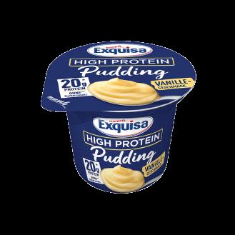 Exquisa Protein Pudding Vanile 6/200g.